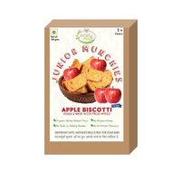 Early Foods Organic Whole Wheat Apple Biscotti - 150gms