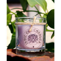 Indie Eco Candles Lavender, 390 gms