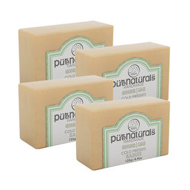 Pure Naturals Hand Made Soap Ginger| Lime - 125g (Set of 4)