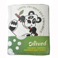 Omved Organic Baby Hooded Towel