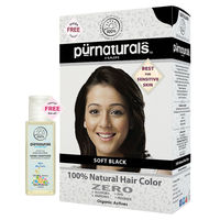 Purnatural Soft Black 100% Natural Hair color