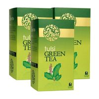 LaPlant Tulsi Green Tea - 25 Tea Bags, pack of three