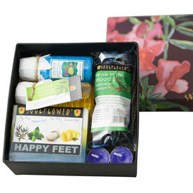 Soulflower Happy Feet Try Me Bath Set - 530 gms