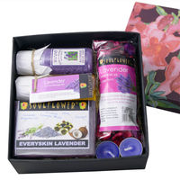 Soulflower Lavender Try Me Bath Set - 530 gms