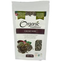 Organic Traditions Cacao Nibs 100gm