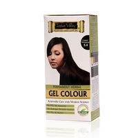 Indus Valley Permanent Herbal Colour- Copper Mahogany Kit - 180 gm