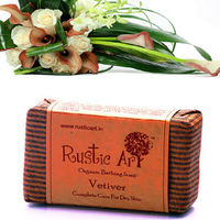 Rustic Art - Organic Vetiver Soap - 100 gms