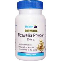 HealthVit Boswellia Powder 250 mg 60 Capsules (Pack Of 2)