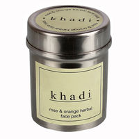 Khadi Rose & Orange Face Pack - 50 Gms