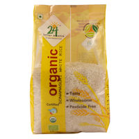 24 Letter Mantra Sonamasuri Raw Rice Polished, 1 kg, 1 kg