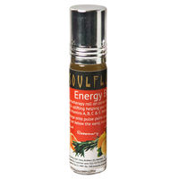 Soulflower Aromatherapy Energy Roll On - 8 ml