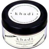 KHADI JASMINE & GREEN TEA FOOT CRACK CREAM - with shea butter- Paraben Free 50 gms