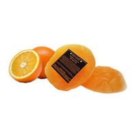Soulflower Orange Pure Glycerin Soap - 100 gms