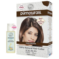 Purnatural Dark Brown 100% Natural Hair Color