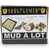 Soulflower Mud A Lot Soap - 150 gms