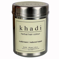 Khadi Herbal Nut Brown Henna - Natural Hazel - 150 Gms