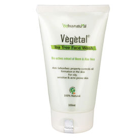Vegetal Tea Tree Face Wash