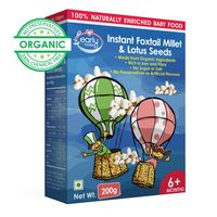 Early Foods Instant Foxtail Millet & Lotus Seeds Porridge Mix 200g