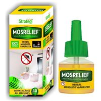 Herbal Strategi Mos Relief: Mosquito Vaporizer 40mL Pack Of 6