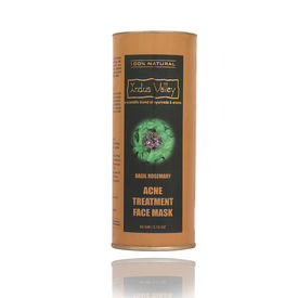 Indus Valley Basil & Rosemary Acne Treatment Face Mask - 60gm