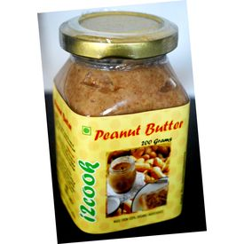 i2cook Natural Peanut Butter - 200 Gms