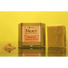 Neev Orange Soap For Radiant and Lustrous Skin 100Gms