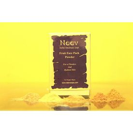 Neev Fruit Face Pack Powder For a Flawless And Radiant Skin 50Gms