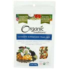 Organic Traditions Ultimate Superfood Trail Mix