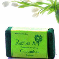 Rustic Art Cucumber Soap - 100 gms