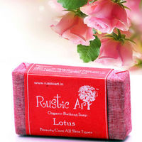 Rustic Art - Organic Lotus Soap - 100 gms