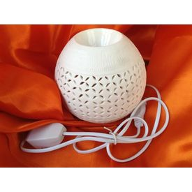 SOIL White Electric Round Diffuser
