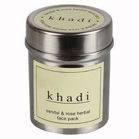 Khadi Sandal & Rose Face Pack - 50 Gms