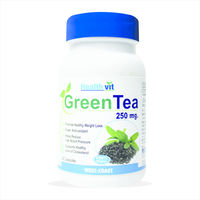 HealthVit Green Tea 60 Capsules, single pack