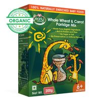 Early Foods Organic Whole Wheat & Carrot Porridge Mix 200g