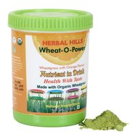 Herbal Hills Wheat-O-Power Orange Flavour Powder 100 Gms