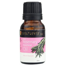Soulflower Rosemary Essential Oil, 15ml