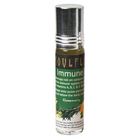 Soulflower Aromatherapy Immune Boost Roll On - 8 ml