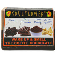 Soulflower Wake Up And Smell The Coffee Chocolate Soap -15 gms