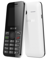 ALCATEL 1054 DUAL SIM 4MB RAM,  white