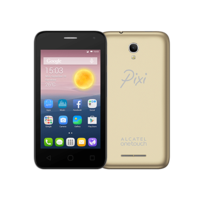 ALCATEL PIXI FIRST 4024D 4GB 3G DUAL SIM,  metallic gold