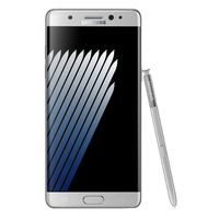 SAMSUNG GALAXY NOTE 7 N930F 64GB LTE+ 128GB SD CARD,  silver
