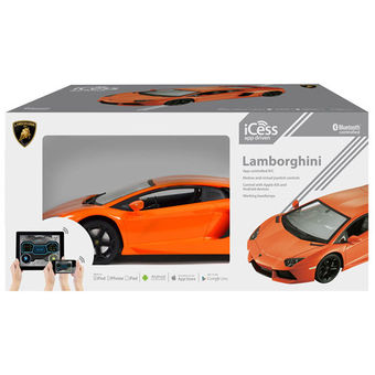 ICESS WIRELESS CONNECTED LAMBORGHINI CAR ORANGE
