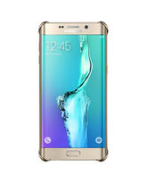 SAMSUNG GALAXY S6 EDGE PLUS CLEAR BACK,  silver