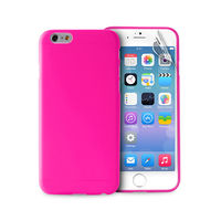 "PURO IPHONE 6 4.7"" ULTRA-SLIM"" 0.3"" COVER with Screen Protector included,  pink"