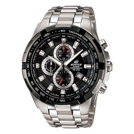 100% Authentic CASIO EDIFICE EF-539D-1AVEF Mens/Gents Chronograph Watch NEW EF539D1AVEF