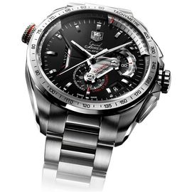 Imported NEW DESIGNER IMPORTED TAG HEUER CALIBRE 36 BLACK SILVER DIAL MEN WRIST Brand New Sealed Pack Original Box+ 1 Yr warranty Free